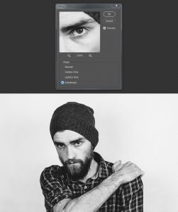 تبدیل عکس به وکتور سیاه و سفید