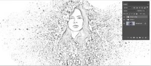 آموزش تبدیل عکس به نقاشی آبرنگ در فتوشاپ