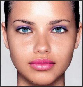 آرایش صورت با فتوشاپ
